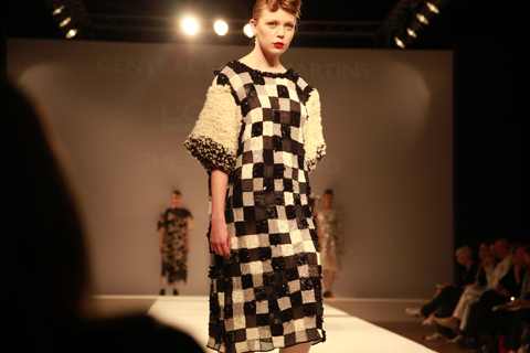 Central Saint Martins Ba Show 2011-Shengwei Wang photography by Amelia Gregory