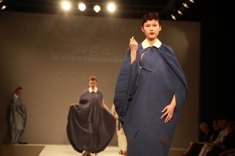 Central Saint Martins Ba Show 2011-Jo Qiao Ding photography by Amelia Gregory