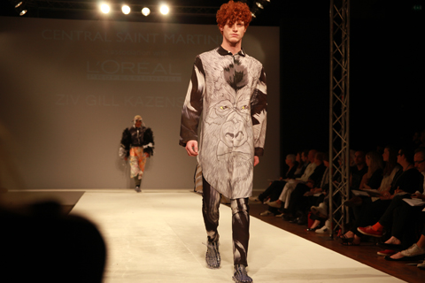 Central Saint Martins Ba Show 2011-Ziv Gill Kazenstein photography by Amelia Gregory