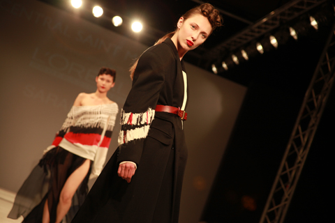 Central Saint Martins Ba Show 2011-Sarah Hall photography by Amelia Gregory