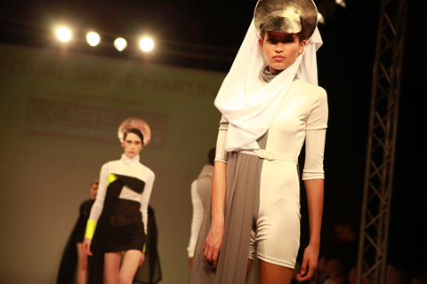 Central Saint Martins Ba Show 2011-Justyna Korzynska photography by Amelia Gregory