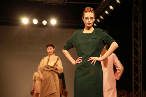 Central Saint Martins Ba Show 2011-Khrystyna Fomenko photography by Amelia Gregory