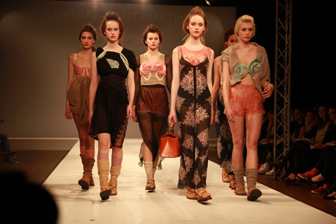Central Saint Martins Ba Show 2011-Emma Rose James photography by Amelia Gregory