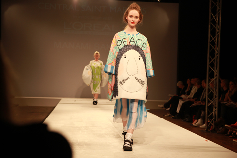 Central Saint Martins Ba Show 2011-Manami Sakurai photography by Amelia Gregory