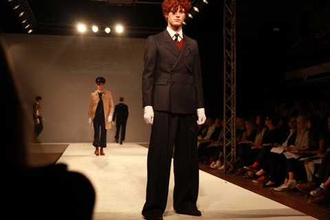 Central Saint Martins Ba Show 2011-Kopi Akasaka photography by Amelia Gregory