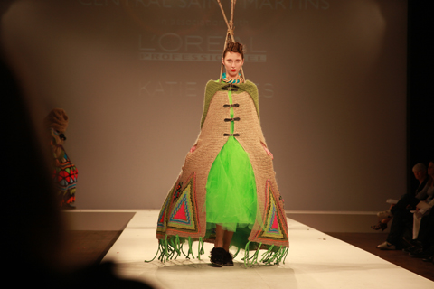 Central Saint Martins Ba Show 2011-Katie Jones photography by Amelia Gregory