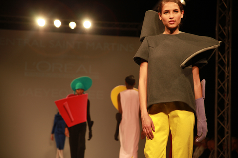 Central Saint Martins Ba Show 2011-Jaeyeon Lee photography by Amelia Gregory