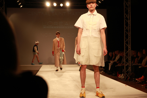 Central Saint Martins Ba Show 2011-Noriyuki Doi photography by Amelia Gregory