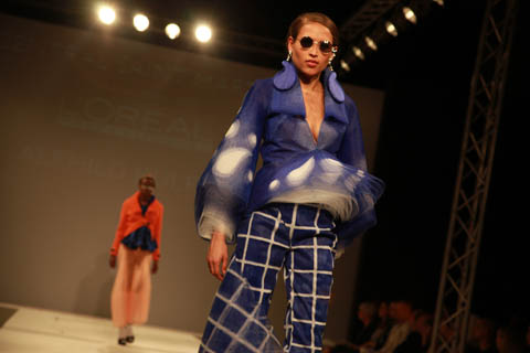 Central Saint Martins Ba Show 2011-Alfhild Kulper photography by Amelia Gregory