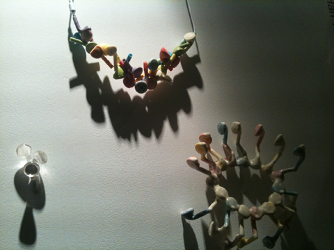 Central Saint Martins jewellery graduate exhibition 2011 Yung-Han Tsai