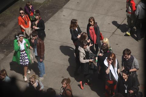 Łódź Fashion Week Poland AW 2011-photography by Amelia Gregory