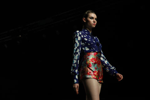 Graduate Fashion Week Gala show Christina Economou 2011