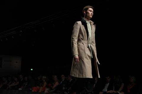 Graduate Fashion Week Gala show Felix Wolodymyr ChablukSmith 2011