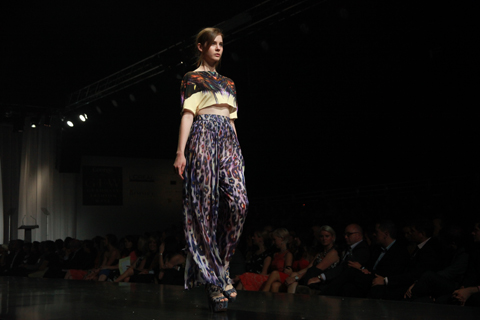 Graduate Fashion Week Gala show Shirana Chavda 2011