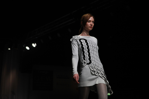 Graduate Fashion Week Gala show Wong Jee Chung 2011