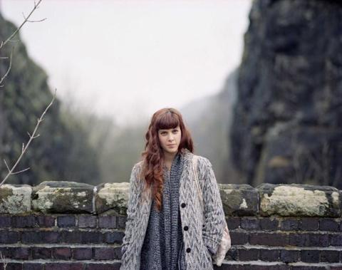 Jodie Herbage girl wall