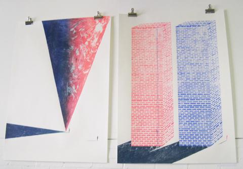 Kingston Illustration graduate exhibition 2011 Eve Lloyd Knight