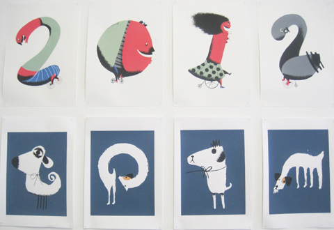 Kingston Illustration graduate exhibition 2011 Jason Munro