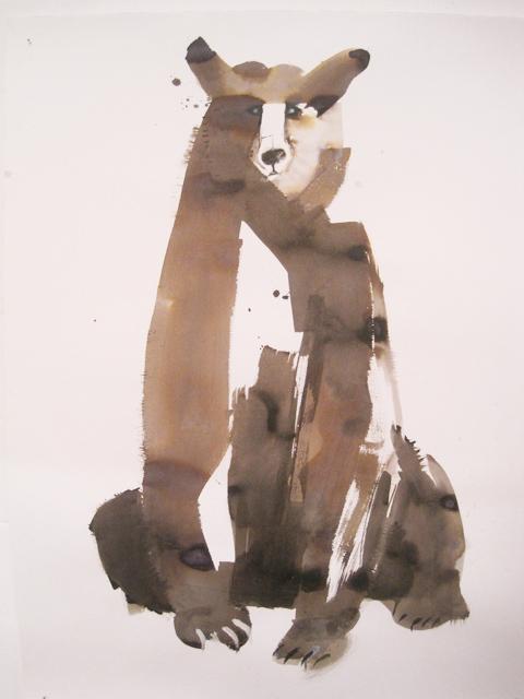 Kingston Illustration graduate exhibition 2011 Sarah Maycock bear