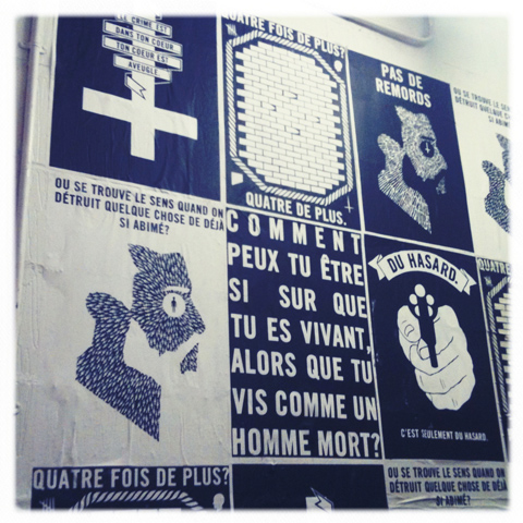 Kingston Illustration graduate exhibition 2011 emily rudd wall