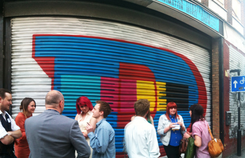 Kingston Illustration graduate exhibition 2011 red gallery