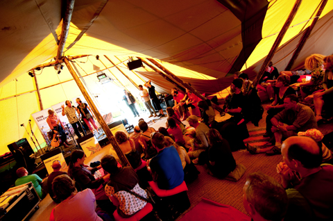 Larmer Tree Festival photo by Mackay
