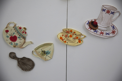 Middlesex illustration graduate show 2011-Emma Block teacups