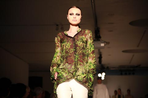 RCA graduate fashion 2011-Amelie Marciasini