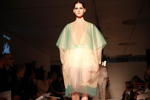 RCA graduate fashion 2011-Itziar Vaquer photography by Amelia Gregory