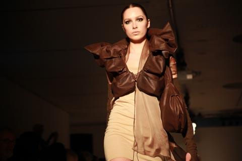 RCA graduate fashion 2011-Anna Schwamborn photography by Amelia Gregory