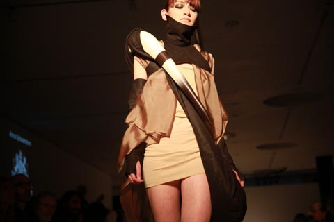 RCA graduate fashion 2011-Anna Schwamborn photography by Amelia Gregory