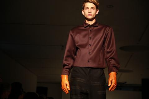 RCA graduate fashion 2011-Josefine Jarzombek photography by Amelia Gregory