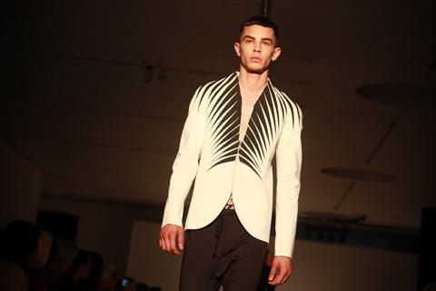 RCA graduate fashion 2011-Yejon Park photography by Amelia Gregory