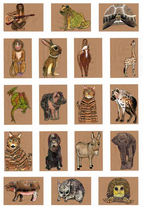 Sarah Leeves animals