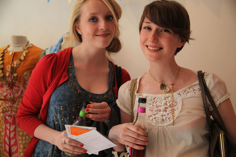 Tatty Devine Brick Lane ACOFI 2011-Katie Byrne Emma Block