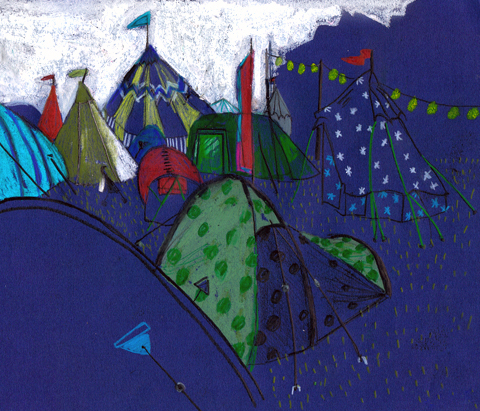 Tents by Lorna Scobie