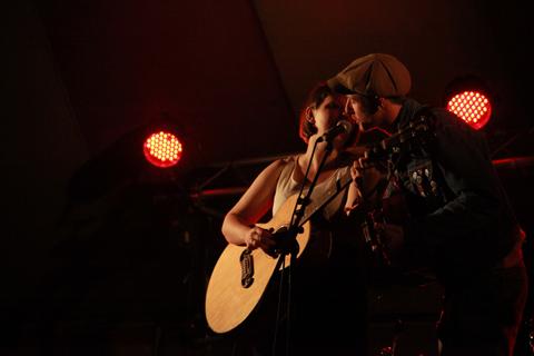 Trevor Moss Hannah Lou Wood Festival 2011