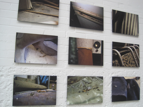 University of Westminster photography graduate exhibition 2011 Shanna Taylor Hoarding the Garage