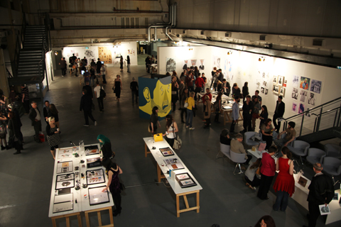 Westminster Illustration Graduate Show 2011