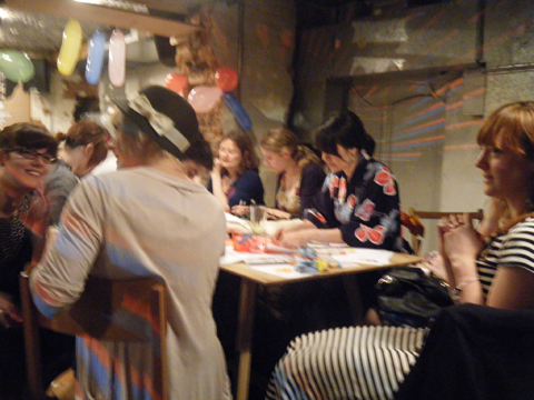 origami Paint it! Make it! Party for Japan