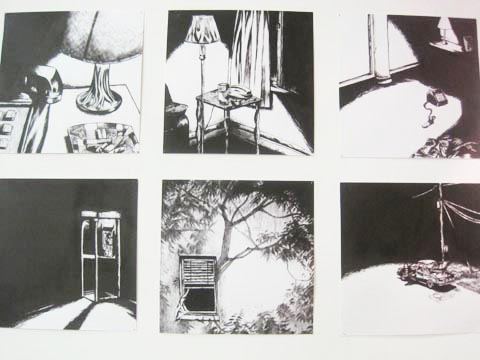 Brighton University illustration graduate show 2011-Joseph Gough