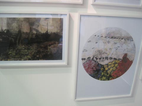 Brighton University illustration graduate show 2011-Anieszka Banks