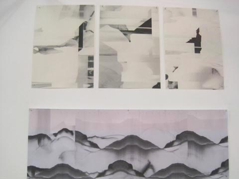 Brighton University illustration graduate show 2011-Davy Evans