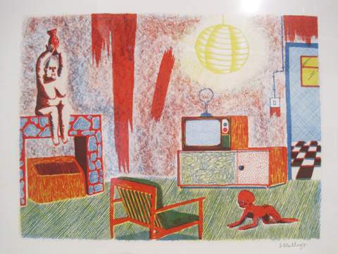 Camberwell College of Art illustration graduate show 2011-Sophy Hollington