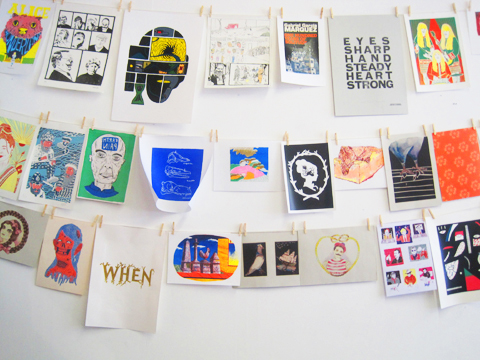 Camberwell College of Art illustration graduate show 2011