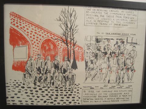 Camberwell College of Art illustration graduate show 2011-Philippe Fenner