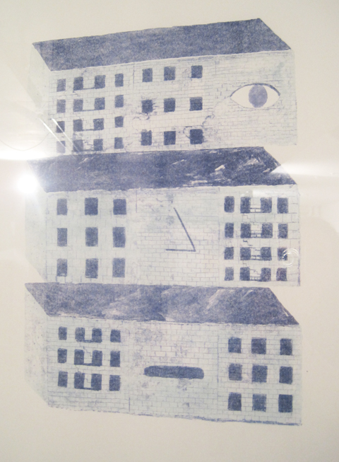 Camberwell College of Art illustration graduate show 2011-Callum Mclean