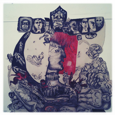 Camberwell College of Art illustration graduate show 2011-Anna Suwalowska