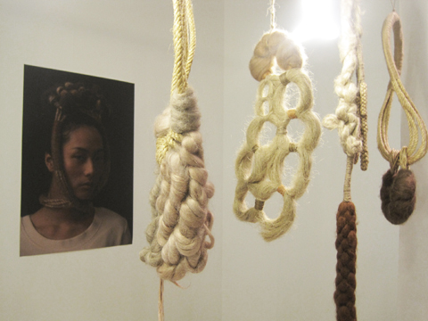 Central Saint Martins textile futures graduate exhibition 2011 review-Hao-Ni Tsai