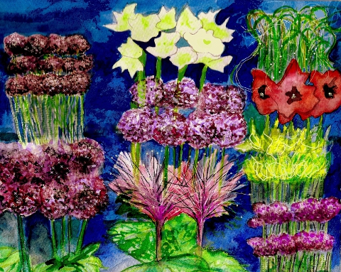 Hampton Court Flower Show Floral Marquee by Sam Parr